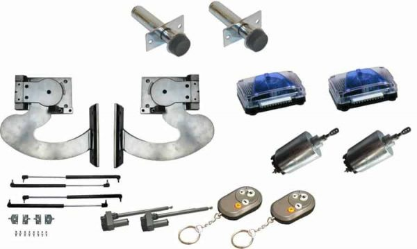 120 Degree Slimline Remote Lambo Vertical Door System