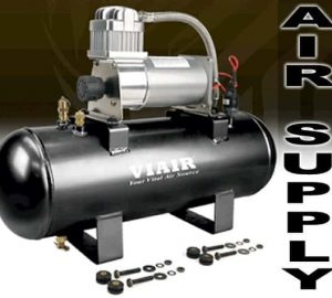 VIAIR Tank & Compressor Kit w/ 2 Gallon Tank, and 280C Compressor (12v) Complete Air Management Unit