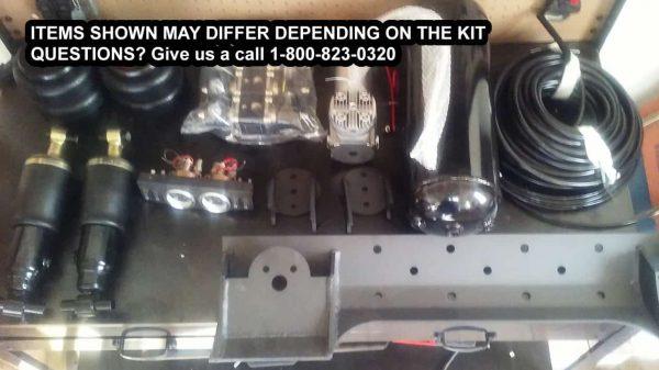 1965-1977 Volkswagen Beetle Plug and Play Air Suspension Kit / F-Strut, R-Bag & Spec FRAMEBG