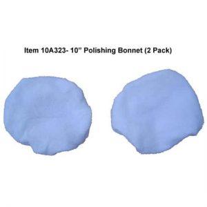 10″ Cotton Polishing Bonnet – 2 Pack