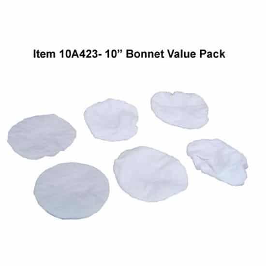 10″ Terrycloth Bonnet Value Pack