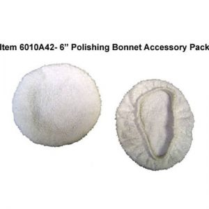 6″ Terrycloth Polishing Bonnets, 2 Pack
