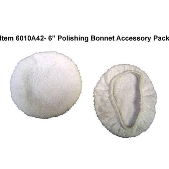 6″ Terrycloth Polishing Bonnets, 2 Pack