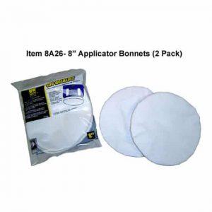 8″ Terry Cloth Applicator Bonnet, 2 Pack