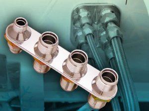4 Port AC / Heater Bulkhead Kit 3 10AN and 1 6AN