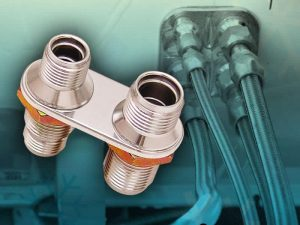 2 Port AC / Heater Bulkhead Kit 10AN and 8AN
