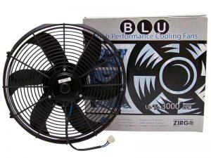 10″ 1019 fCFM High Performance Blu Cooling Fan