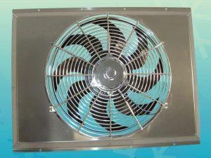 19.5″ x 20″ x 1″ Fabricated Aluminum Fan Shroud