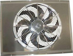 25.5″ x 19.5″ x 1″ Aluminum Fan Shroud