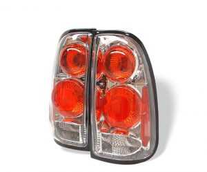 00-02 Toyota Tundra Altezza Tail Lights – Chrome