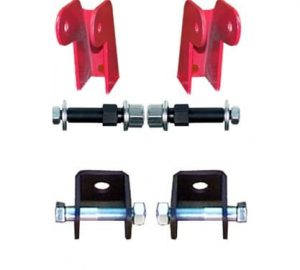Shock Relocation Brackets Only, Weld or Bolt (no Shocks)