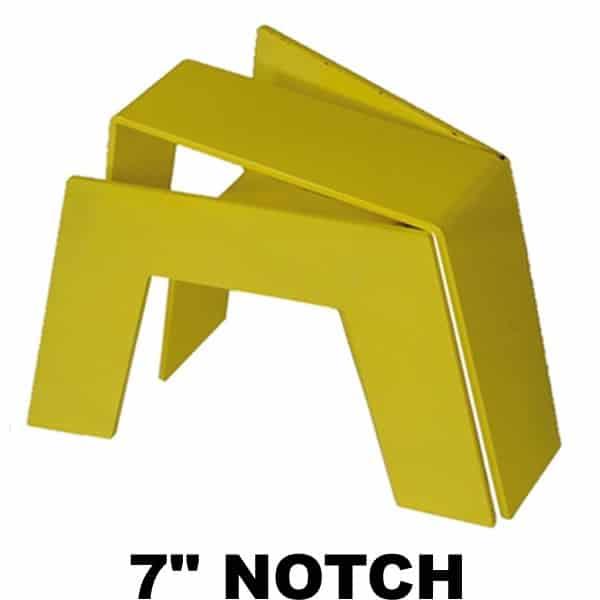 7″ Super C-Notch/Bridge No Shock Bracket, Needs Fabrication