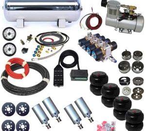 1986-1989 Honda Accord Plug and Play Air Suspension Kit – Air Cylinders