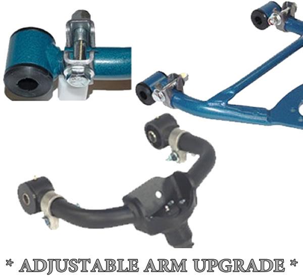 Lift or Drop Adjustable Control Arms **UPGRADE**