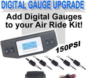 Digital Air Bag Pressure Gauge 5-Zone, 150psi **UPGRADE**