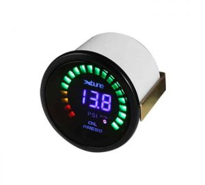 Digital Oil Pressure Gauge – X-Tune Smoke Face