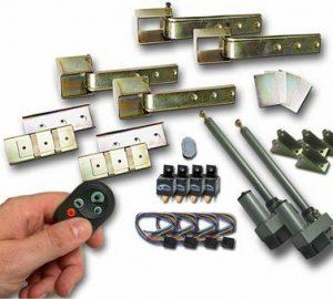 Universal 180 Mono Hidden Suicide Door Hinge Kit w/ Remote (2 Door)