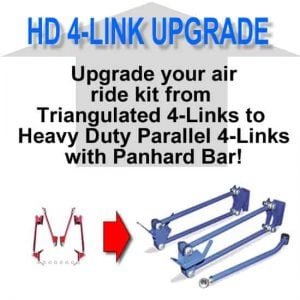 Triangulated 4-link to Heavy Duty Parallel 4-link **UPGRADE**