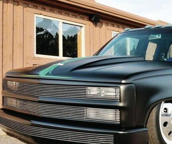 1988-1998 Chevrolet C/K10, Silverado, Sierra, Suburban, Yukon, Tahoe Billet Phantom Grille / Shell (No Side Markers)