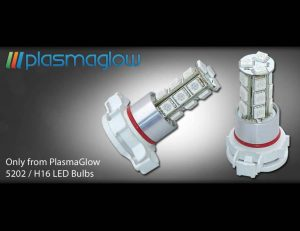Plasmaglow 5202 / H16 / 9009 LED Foglight Bulbs
