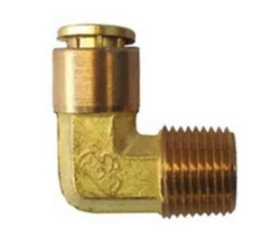 Elbow Male 1/8 (NPT) To 1/4 (Tube) Air Fitting