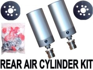 2000-2004 Nissan Sentra Rear Air Suspension Kit, Cylinder Kit (no fittings)