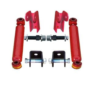 Universal Shock Relocation Kit, Weld or Bolt (w/Shocks) (2 Shock Kit)
