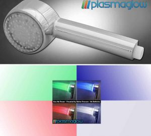 LED Shower Head (No Power Required)