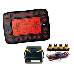SMARTRIDE Multi-Function Digital Air Ride Suspension Controller (Controller & Pressure Sensors)