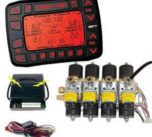 SMARTRIDE Pre-Built Digital Air Ride Suspension Controller with Pressure Sensors (Includes 200psi – 3/8″ Valve Engine)