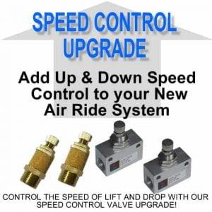 Air Suspension Speed Control **UPGRADE**