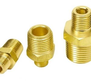 Straight Connector – 1/4″ NPT Male to 3/8″ NPT Male Air Fitting