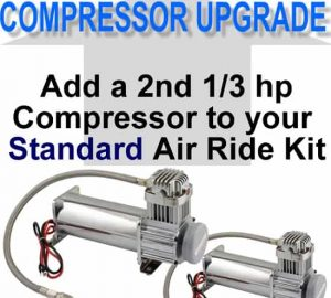 Add an Additional 1/3 hp 480C Compressor **UPGRADE**