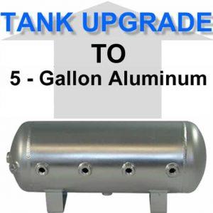 5 Gallon Aluminum Air Suspension Tank **UPGRADE**
