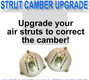 Adjustable Upper Strut Camber Plates (Pair) **UPGRADE**