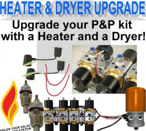 Add a Valve Warmer and Dryer to your Plug and Play Air Engine **UPGRADE**