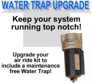 Water / Oil Trap Separator Filter 3/8in NPT **UPGRADE**