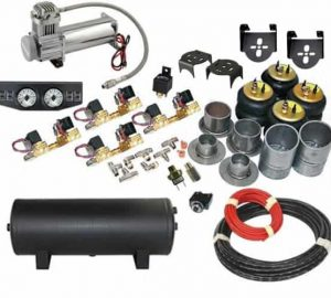 1955-1957 Chevrolet Impala, Bel Air, Biscayne Complete Air Suspension Kit