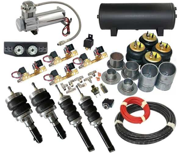 1987-1995 Nissan Pathfinder, QX4 Complete Air Suspension Kit