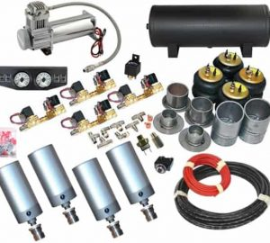 1986-1989 Honda Accord Complete Air Suspension Kit – Air Cylinders