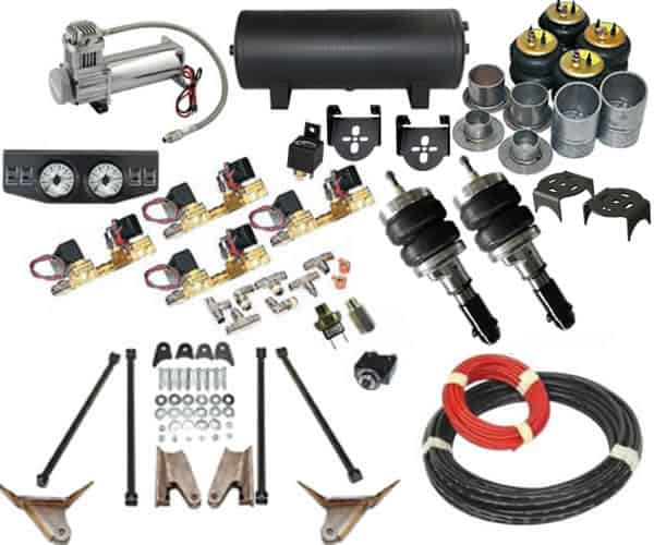 1984-1995 Dodge Caravan, Voyager, Town and Country Complete Air Suspension  Kit
