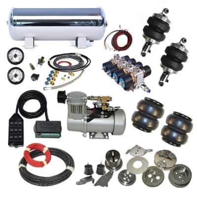 Custom Plug & Play Air Suspension Kits - X2 Industries