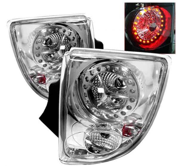 00-05 Toyota Celica LED Tail Lights - Chrome