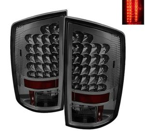 02-06 Dodge Ram 1500, 2500, 3500 LED Altezza Tail Lights - Smoke