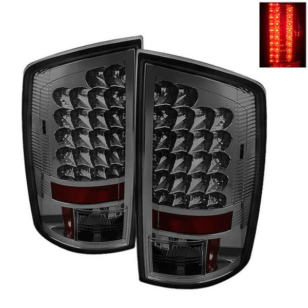 02-06 Dodge Ram 1500, 2500, 3500 LED Altezza Tail Lights - Smoke