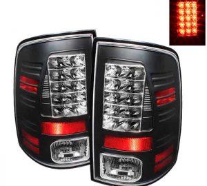 09-14 Dodge Ram 1500/2500/3500 LED Tail Lights (Incandescent Model Only, Not Compatible With LED Model) - Black