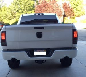 09 14 Dodge Ram 1500 2500 3500 Led Tail Lights Incandescent Model