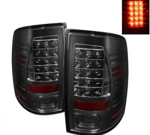 09-14 Dodge Ram 1500/2500/3500 LED Tail Lights (Incandescent Model Only, Not Compatible With LED Model) - Smoke