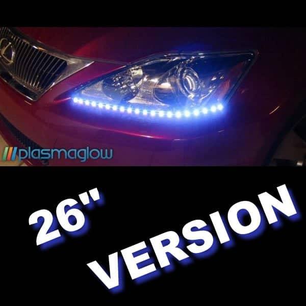 Plasmaglow Lightning Eyes LED Headlight Kit - 26Inch (Pink)