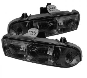 1998-2002 Chevy S-10 Crystal Headlights - Smoked